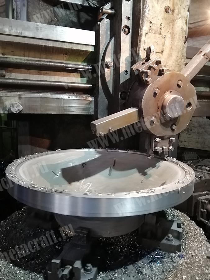 Токарно-карусельная обработка конуса