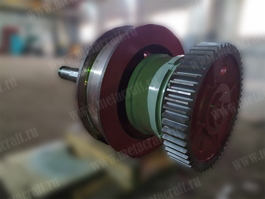 Приводное колесо крана для Саратовской ГЭС