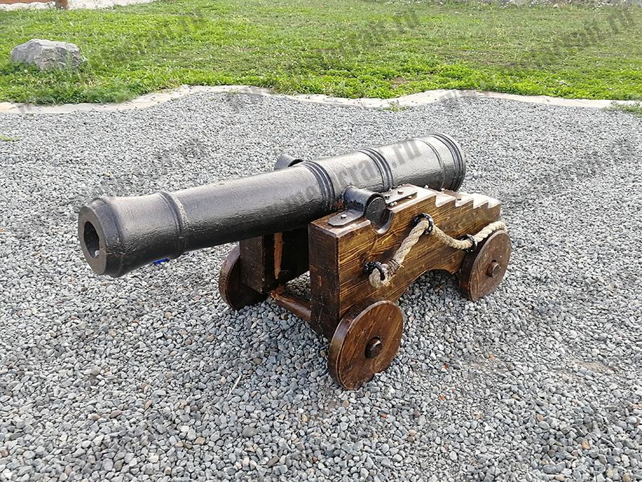 "Отливка ""Пушка"" точная копия экспедиции В.И.Беринга"